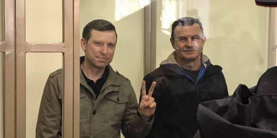 Дудка і Бессарабов не визнали свою провину / фото Crimean Human Rights Group / Facebook