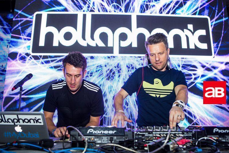Дуэт Hollaphonic будет полностью курировать программу musicDXB \ amp.arabianbusiness.com