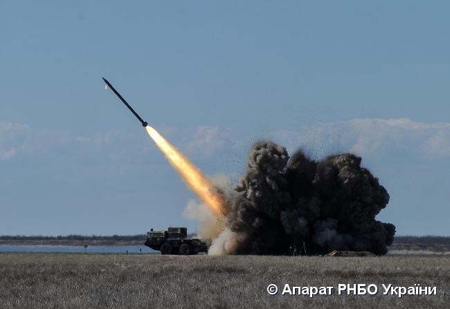 Україна наступного тижня продовжить випробування ракет «Вільха-М» і «Вільха-Р» / Прес-служба РНБО
