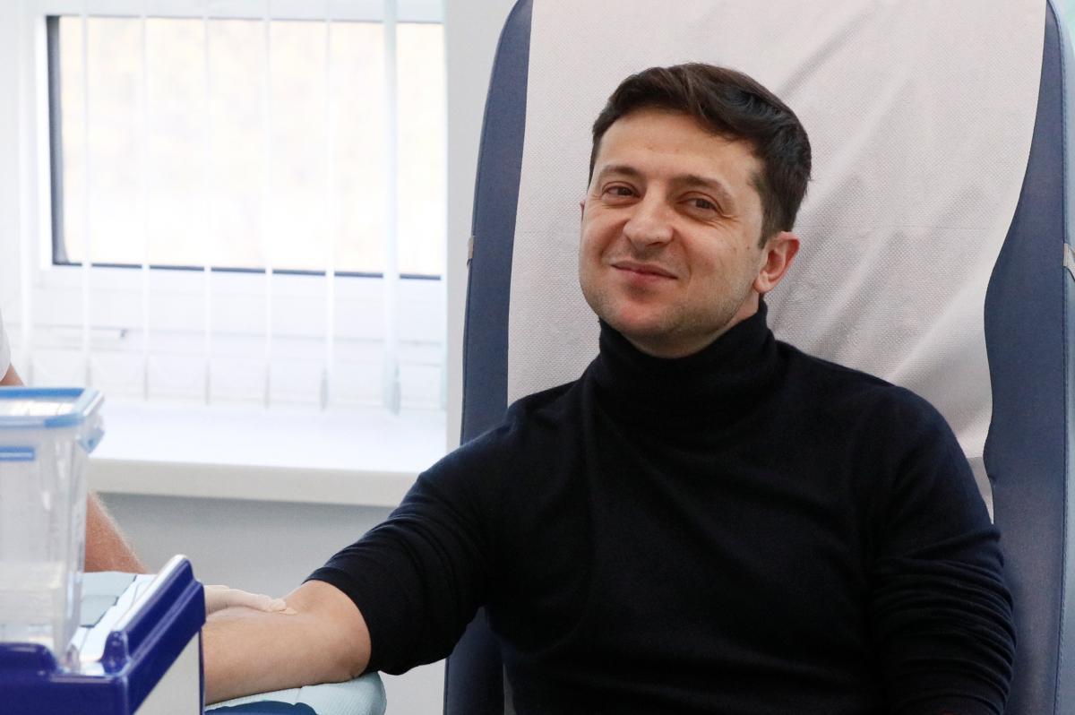 Кандидат в президенты Украины Владимир Зеленский / REUTERS