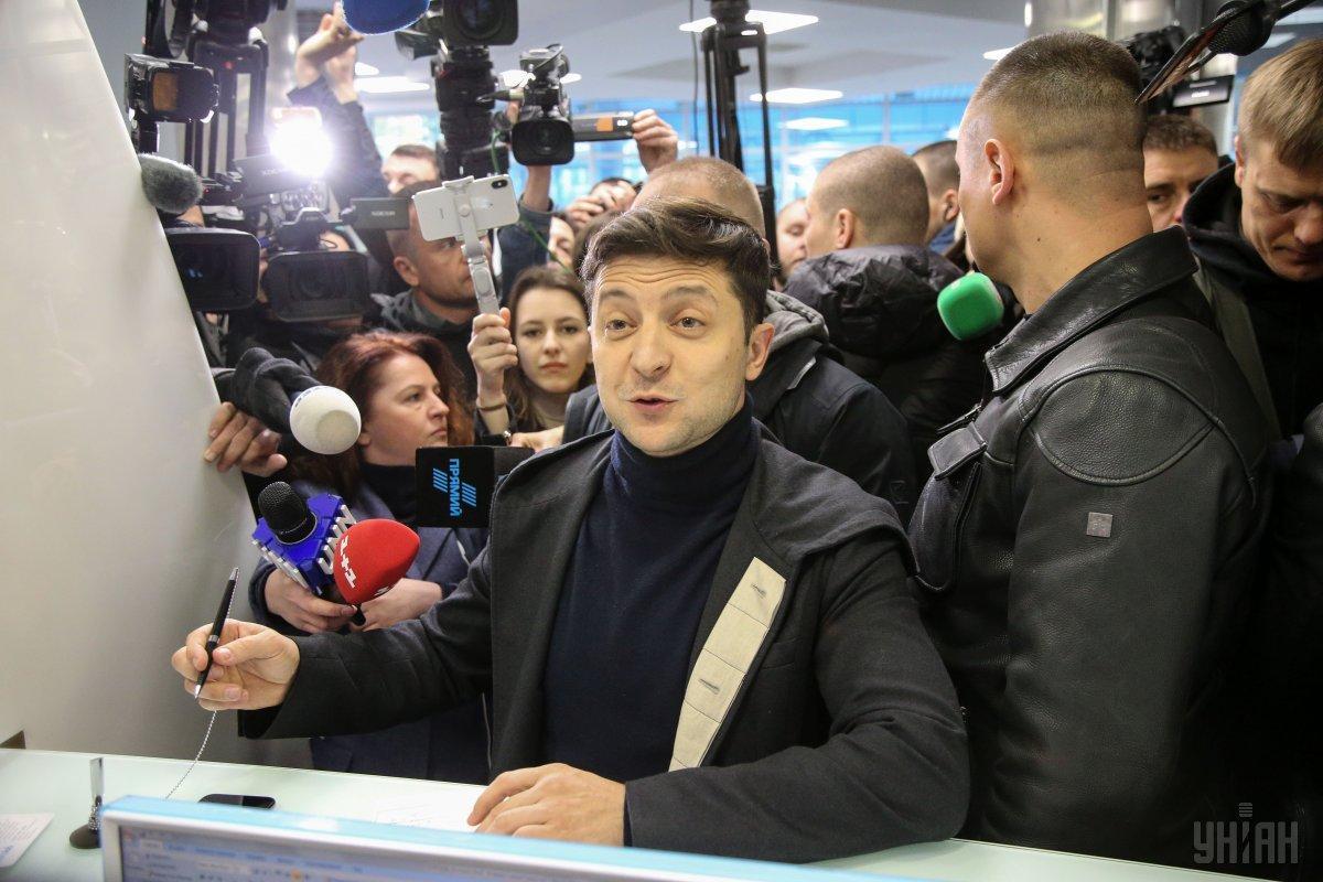 Зеленский заявил, что команда Порошенко вынуждала его отказаться от дебатов / фото УНІАН