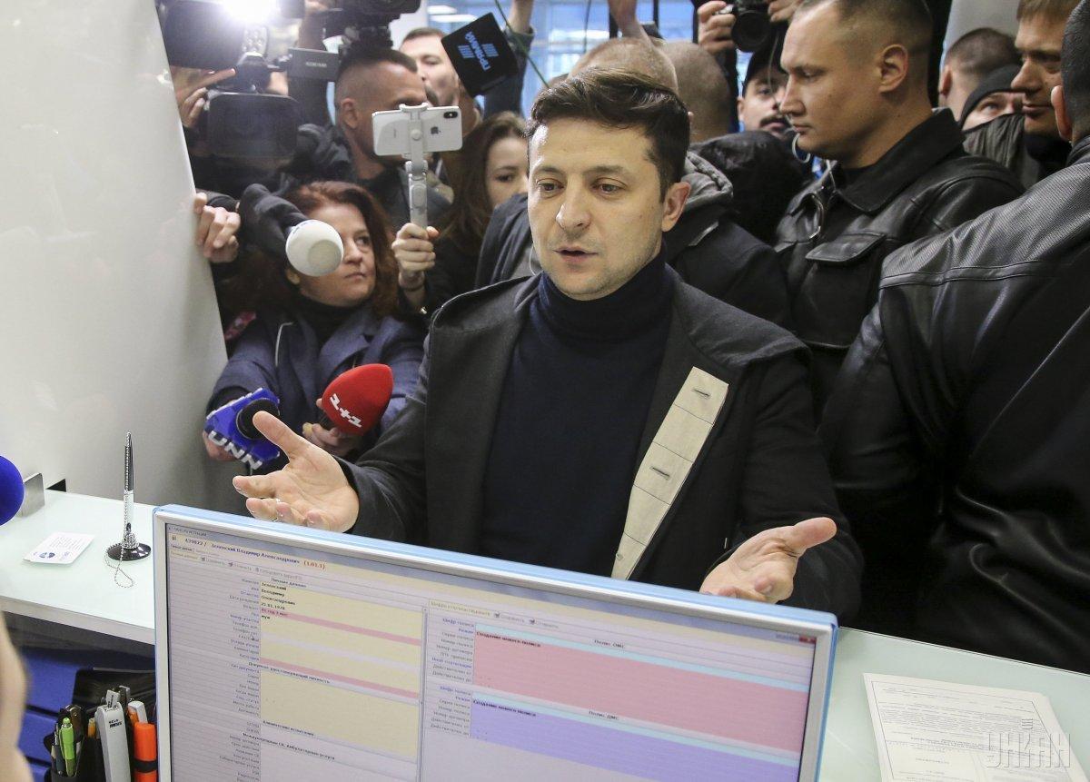 Зеленський буде очікувати Петра Порошенка 19 квітня о 19.00 на НСК «Олімпійський» / УНІАН