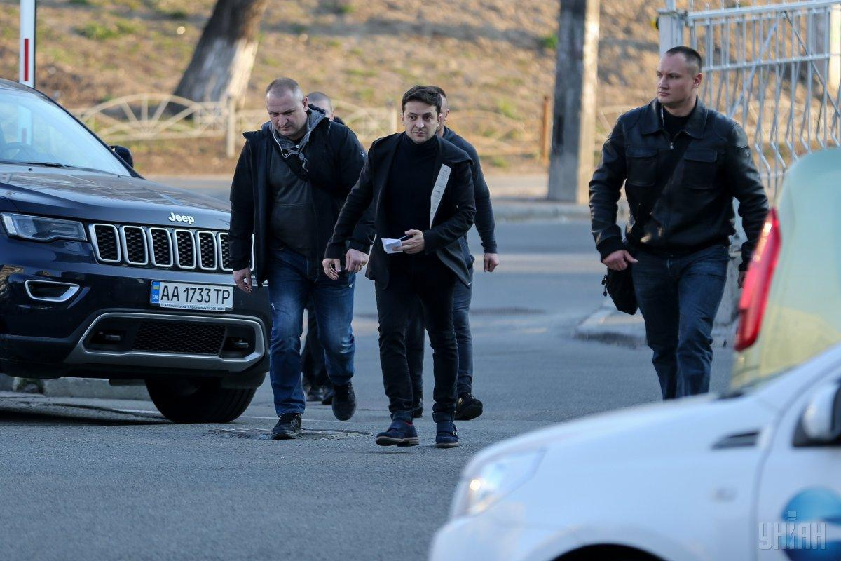 Зеленский заявил, что не прятался от журналистов / фото УНІАН