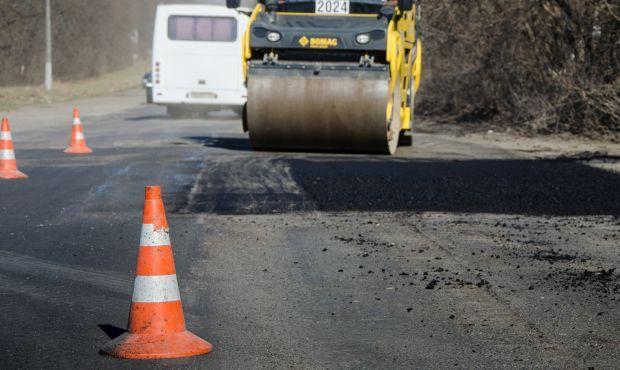 Украинские специалисты восстановили дорогу от Богдановки до Петровского / фото пресс-служба Службы автомобильных дорог в Тернопольской области