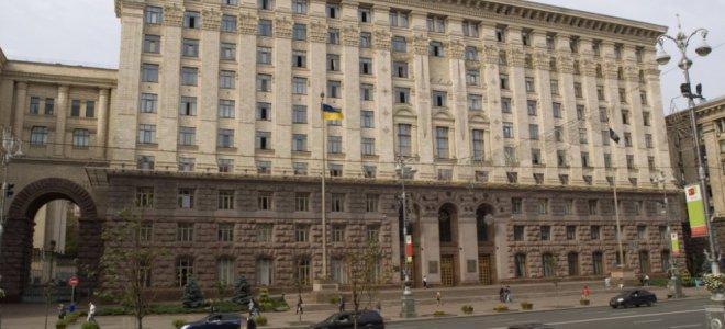 Столар під Київрадою збирає проплачений мітинг за Пальчевського / фото kyivcity.gov.ua