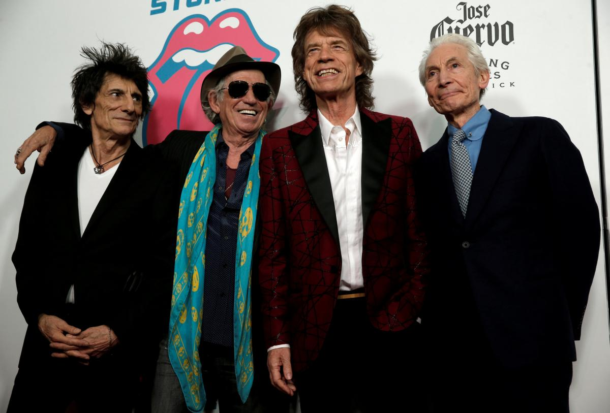 The Rolling Stones / REUTERS