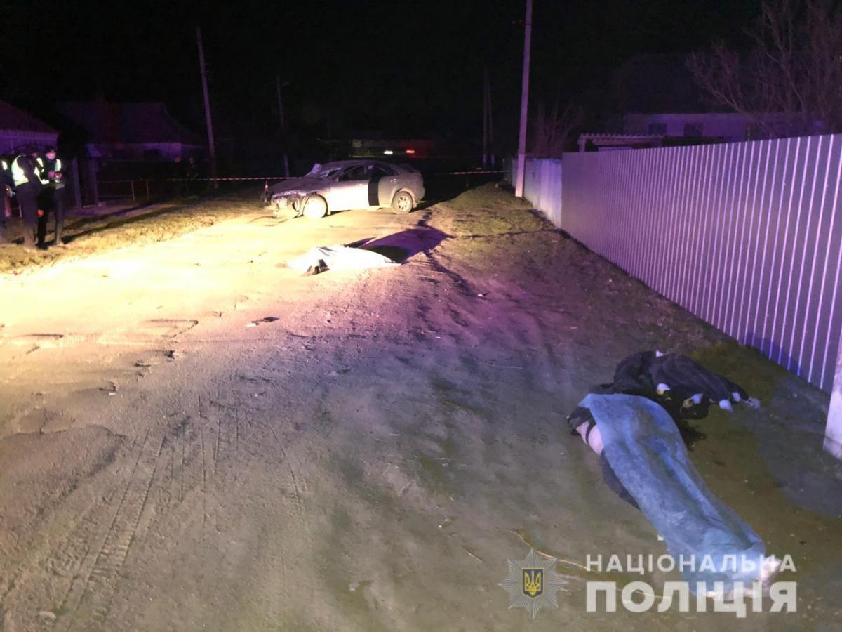 На Киевщине подросток за рулем иномарки сбил насмерть двух девушек / фото kv.npu.gov.ua