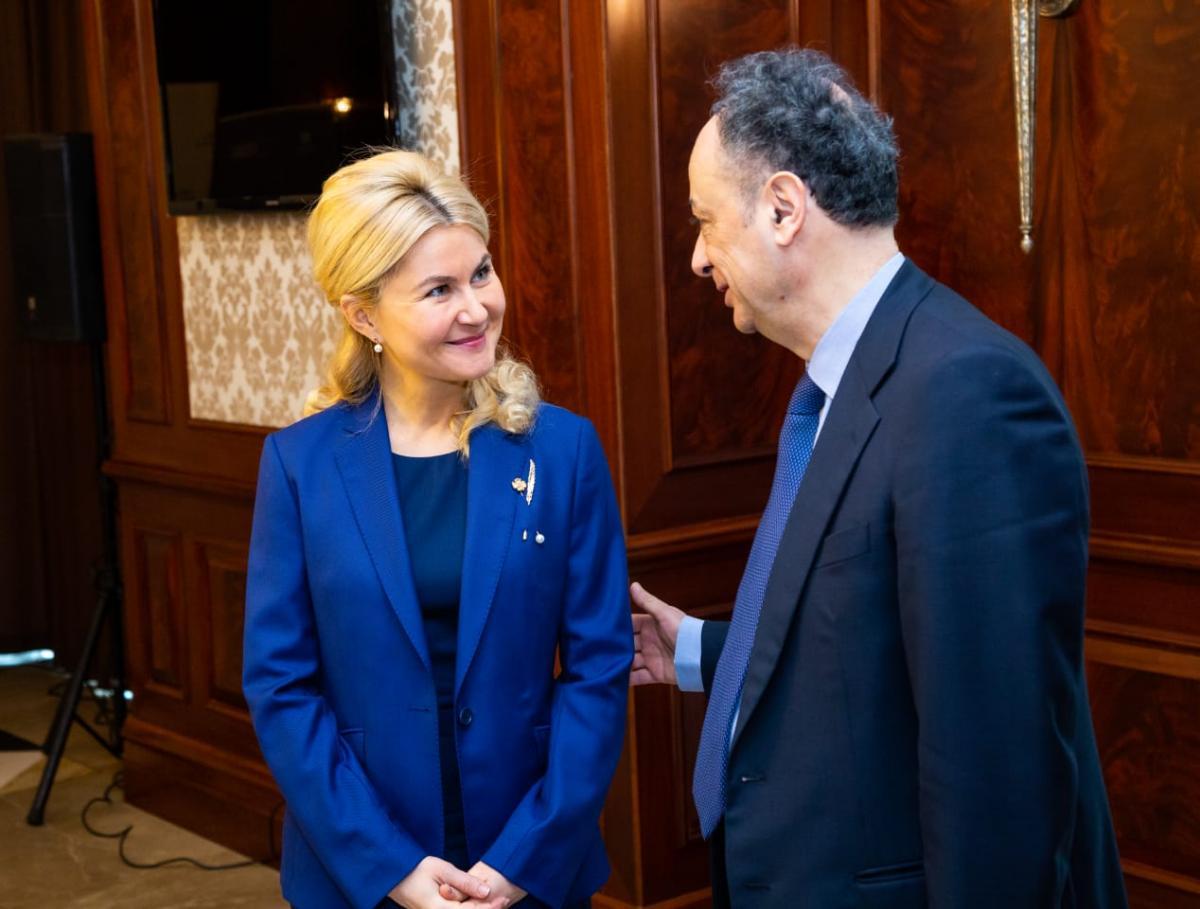 Председатель ХОГА Светличная и Посол ЕС Хьюг Мингареллидоговорились о новых проектах на Харьковщине / kharkivoda.gov.ua
