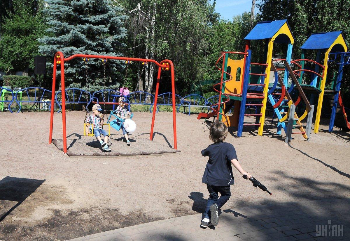 Сейчас украинские детсады закрыты на карантин / УНИАН