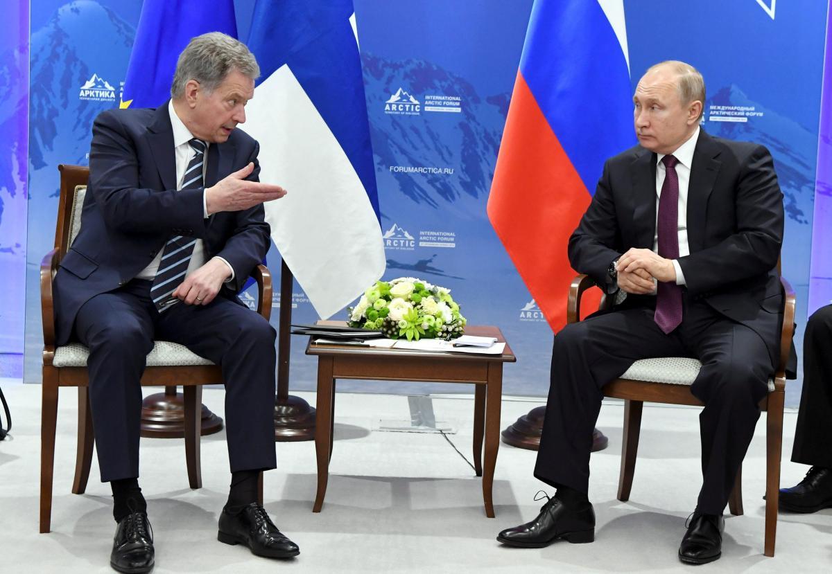 Саули Ниинистё и Владимир Путин / REUTERS