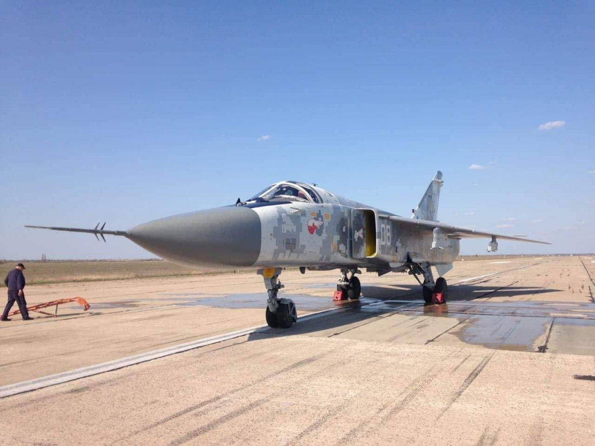 Ukrainian Army gets upgraded Su-24 attack aircraft / Photo mil.in.ua