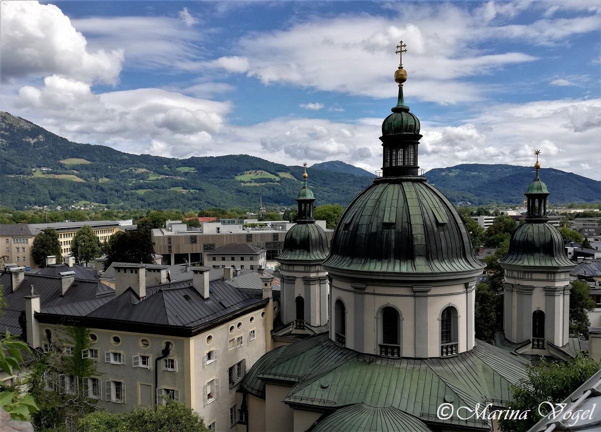 Зальцбург - просто роскошный город с яркой жизнью / Фото Марина Григоренко
