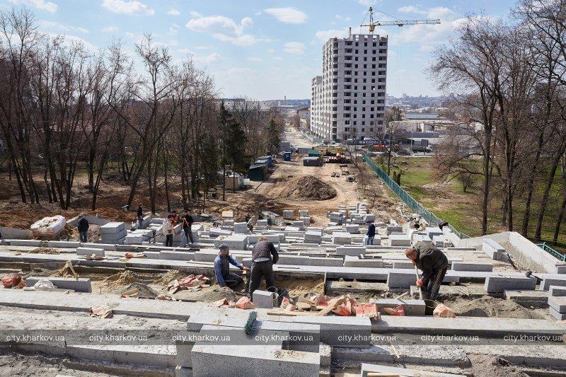 На «Каскаде» сейчас продолжаются строительно-монтажные и отделочные работы / city.kharkov.ua