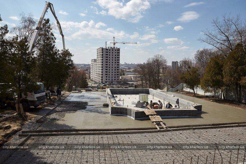 На «Каскаде» будет два фонтана и пандус / фото city.kharkov.ua