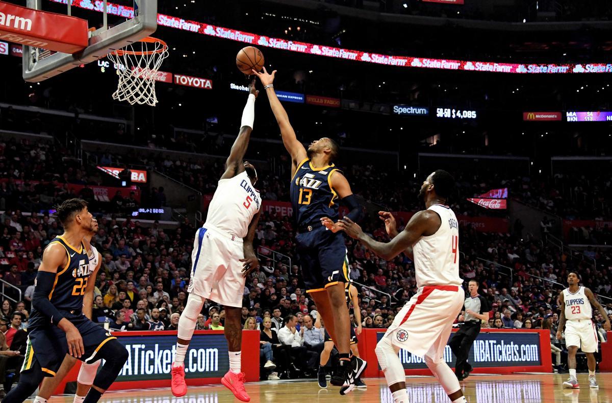 """""""Лос-Анджелес Клипперс"""" и """"Юта Джаз"""" вошли в раунд плей-офф НБА / REUTERS"""