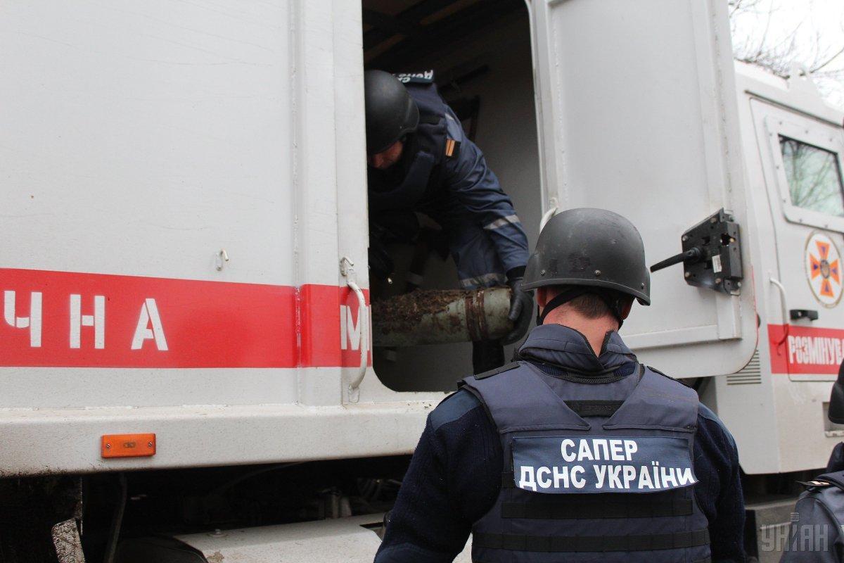 В центре Харькова произошел взрыв в палатке / фото УНИАН