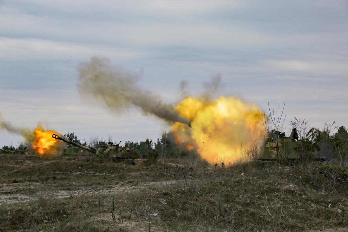 ВСУ открыли огонь в ответ / mil.gov.ua