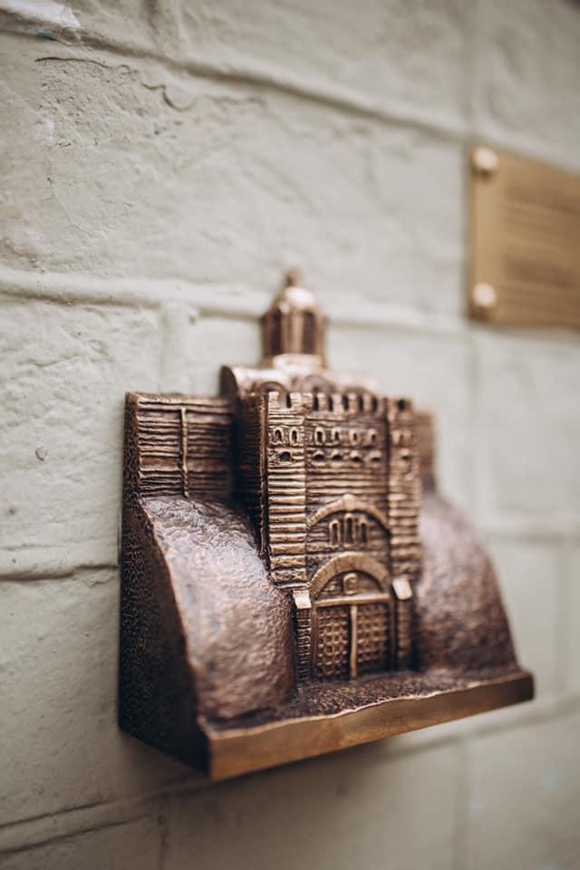 Четырнадцатая мини-скульптурка проекта «Шукай!» – Золотые ворота / фото facebook.com/shukay.kyiv