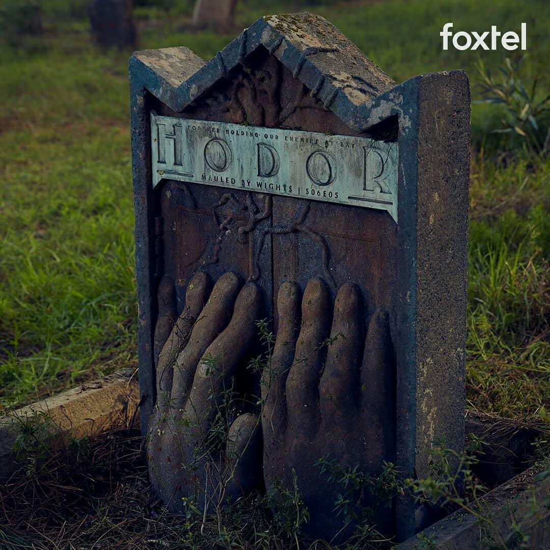 ВАвстралии появилось кладбище смогилами погибших героев «Игры престолов»