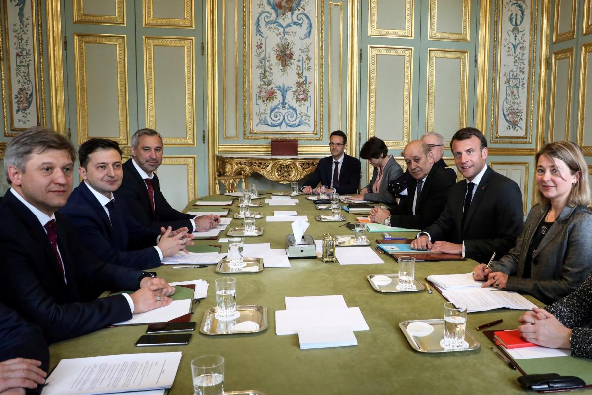 Зеленський розповів, як пройшла його зустріч з французьким президентом / REUTERS