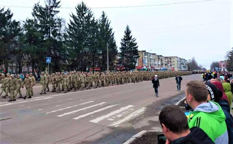 58-я бригада ОК «Север» начала свое формирование 17 февраля 2015 г / фото facebook.com/Генадій Тарасенко
