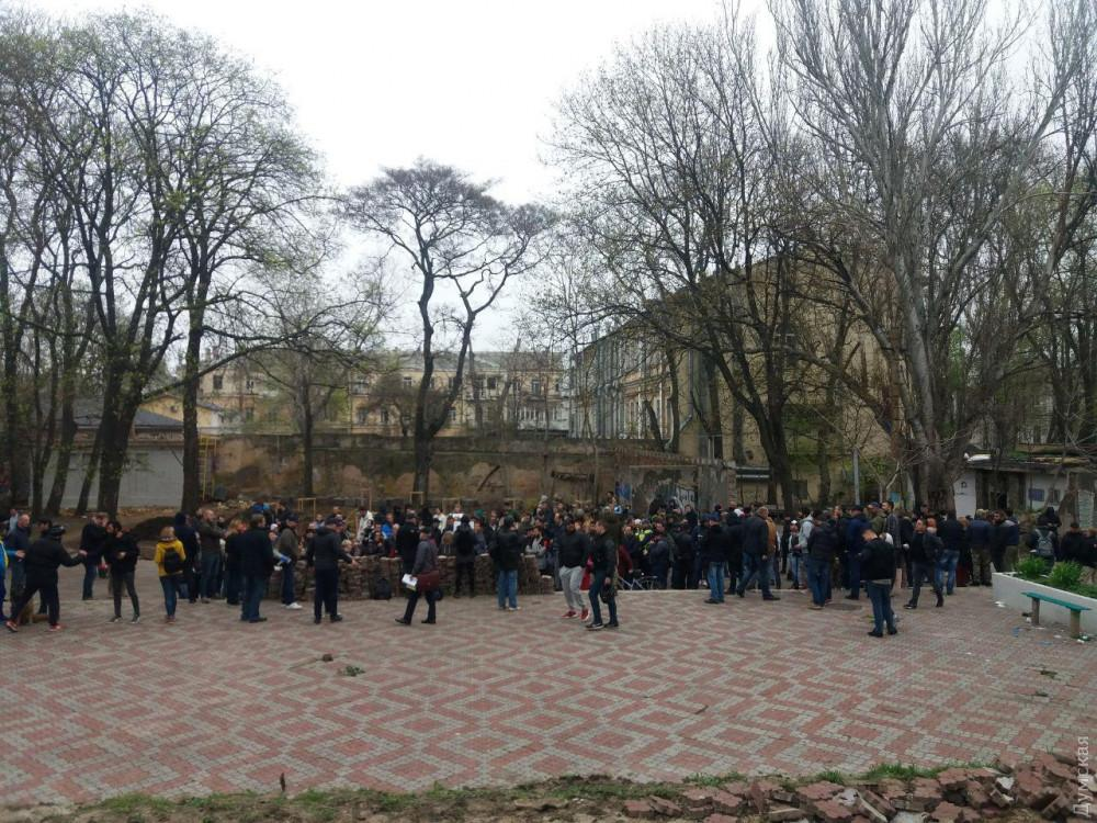 Акция протеста в Одессе / фото Думская