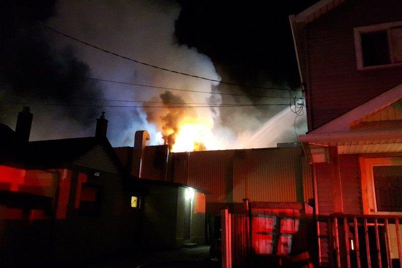 В результаті пожежі ніхто не постраждав / фото: twitter.com/HamiltonFireDep