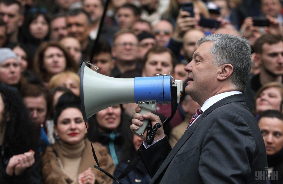 Порошенко считает, что референдум может состояться после 2023 года / фото УНИАН