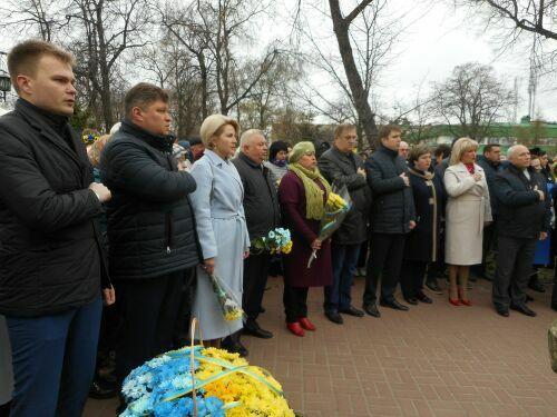 Учасниками церемонії відкриття стали представники влади і громадськості / фото pryluky.cg.gov.ua