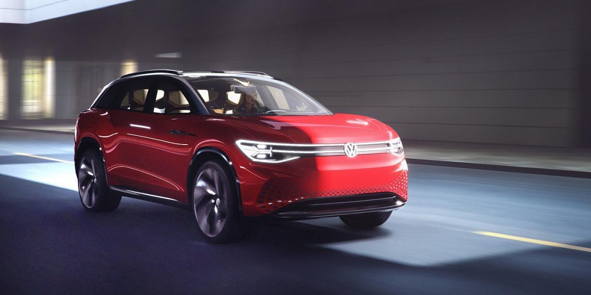 Серийная версия прототипа станет самой большой моделью в линейке I.D. / фото Volkswagen