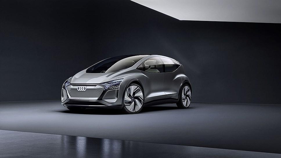 AI:ME получил автопилот Level 4 / фото Audi