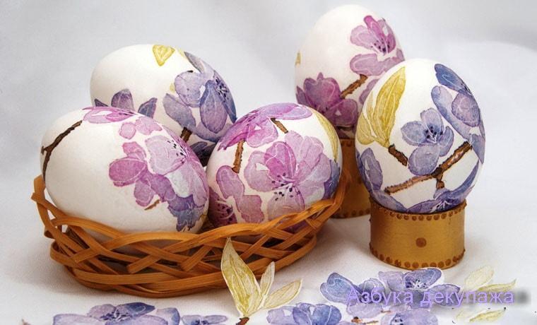 УНИАН научит делать безопасный экологичный декупаж на вареных яйцах / фото superdecoupage.ru