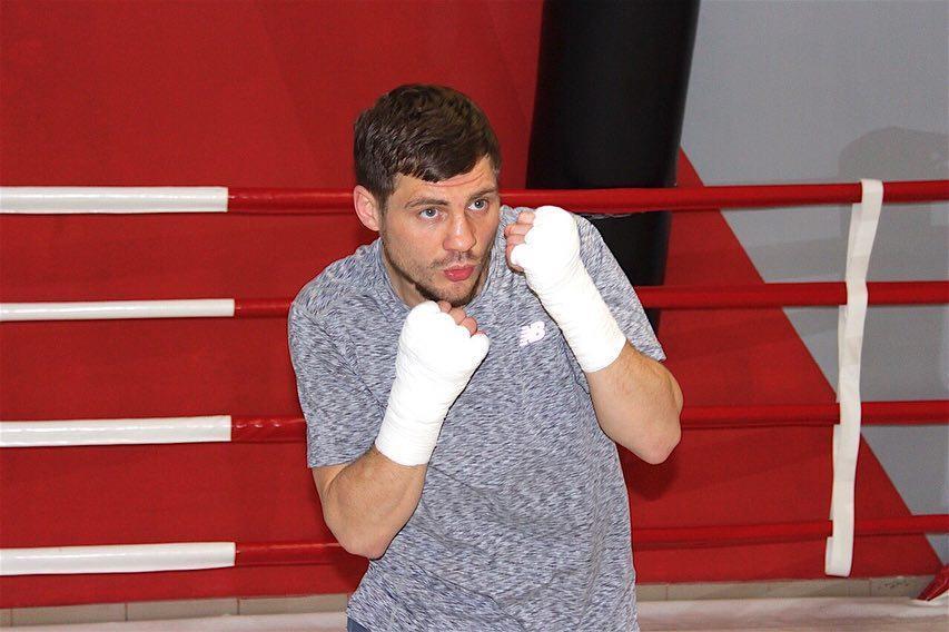 Денис Беринчик завершил подготовку к бою / фото: К2 Promotions