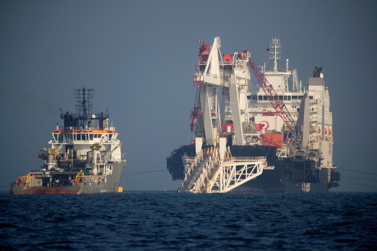 Накануне Газпром отчитался о завершении строительства газопровода / REUTERS
