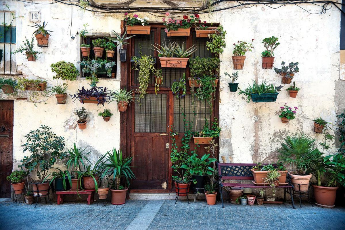 Итальянская улочка в центре Барселоны / Фото reddit.com