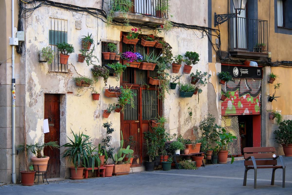 Итальянская улочка в центре Барселоны / Фото driftwoodjournals.com