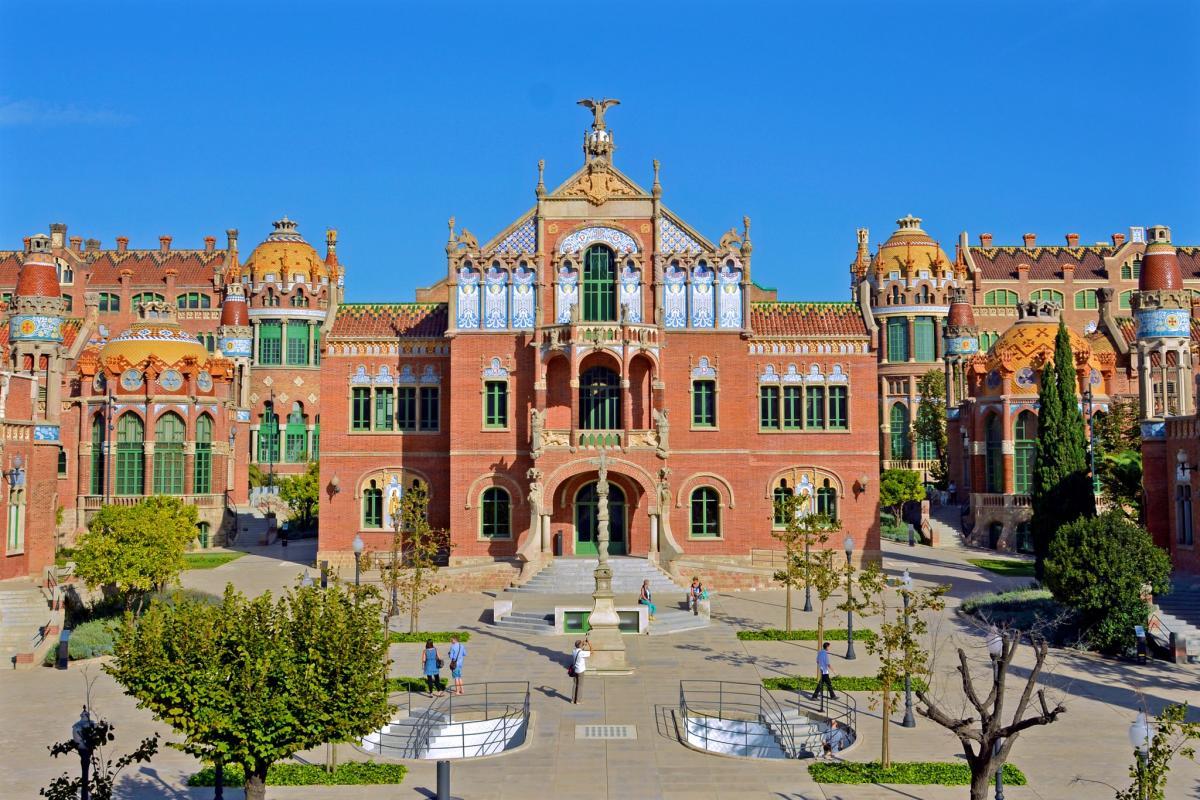 Госпиталь Святого Креста и Святого Павла / Фото google.com