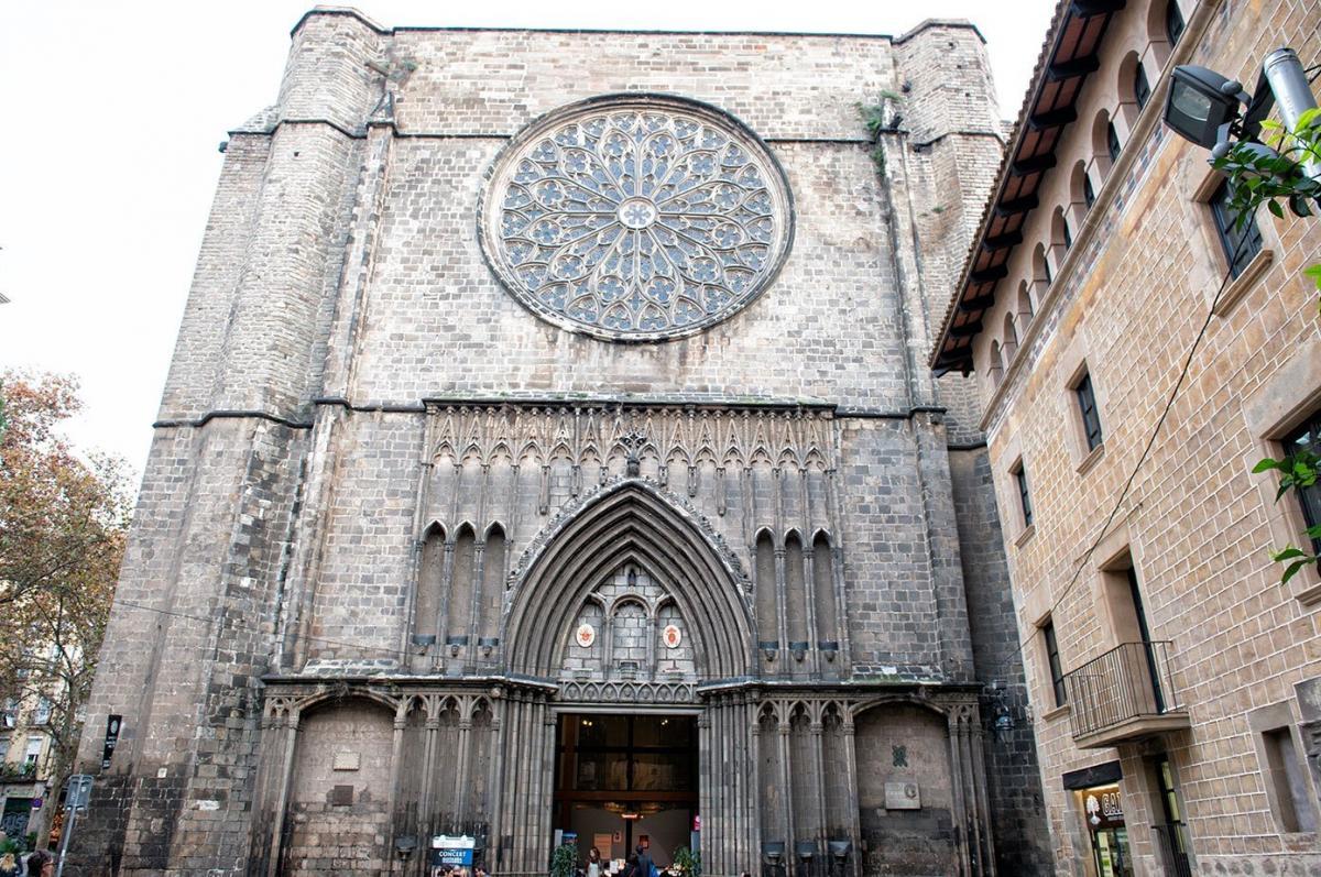 Базилика Санта Мария дель Пи / Фото knowingbarcelona.com