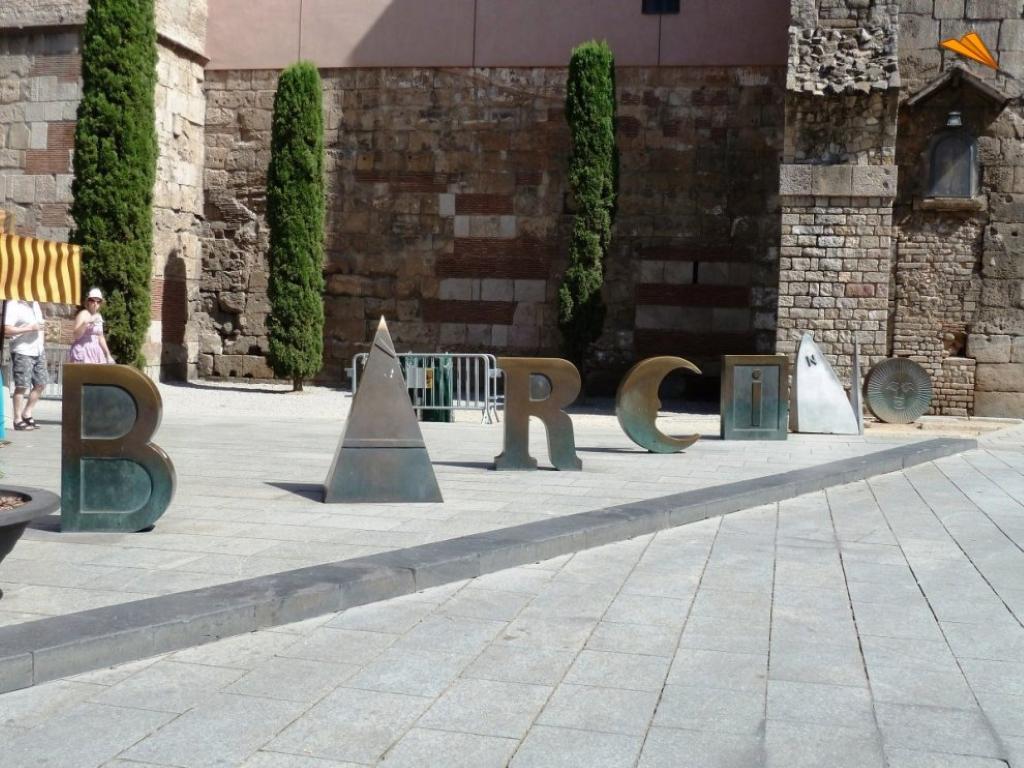 Скульптура Barcino на Новой площади / Фото es.wikipedia.org