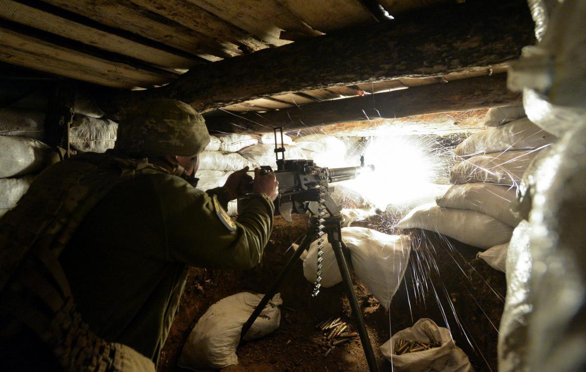 """Всі обстріли були здійснені в районі відповідальності оперативно-тактичного угруповання """"Схід""""/ фото REUTERS"""