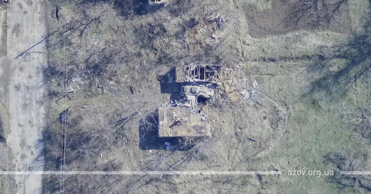 Азовцы уничтожили российскую БМП-1 / фото: пресс-служба Азова
