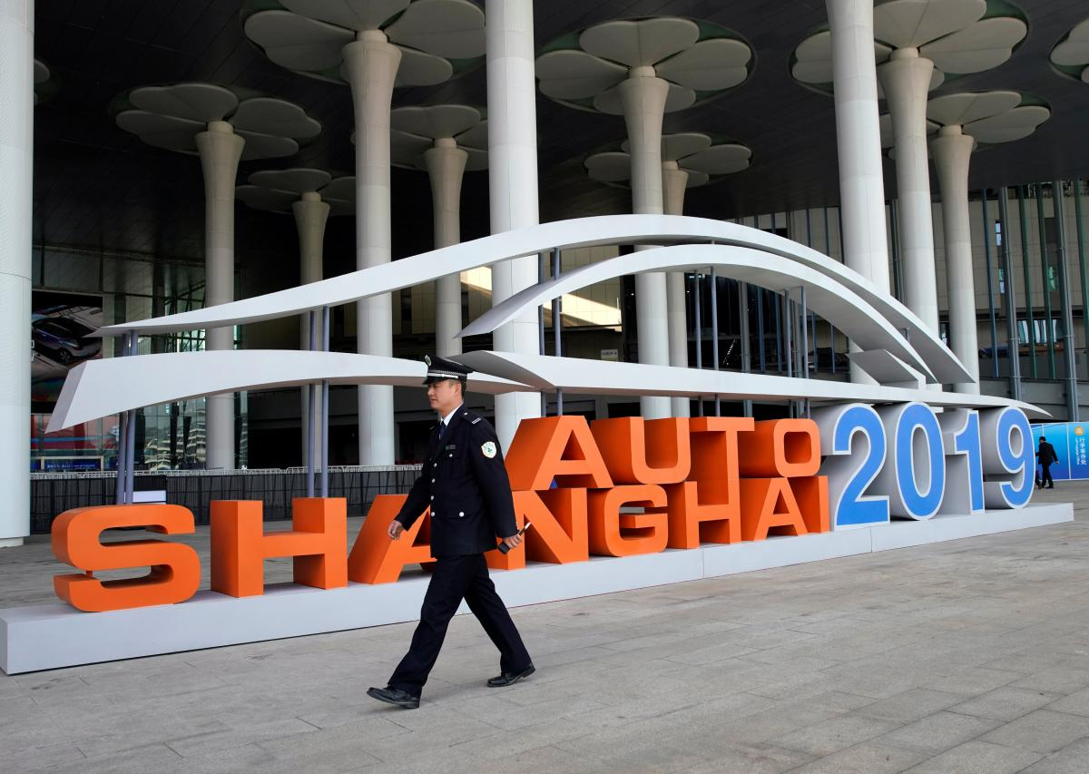 Международный автосалон вШанхае открылся для уполномоченных СМИ