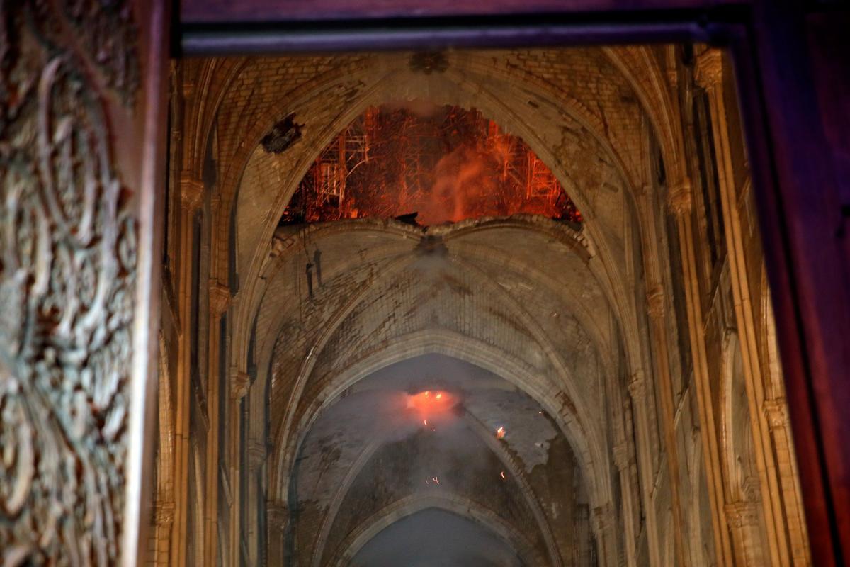 Пожежа ПаризькогоСобору стала для України повчальною / REUTERS