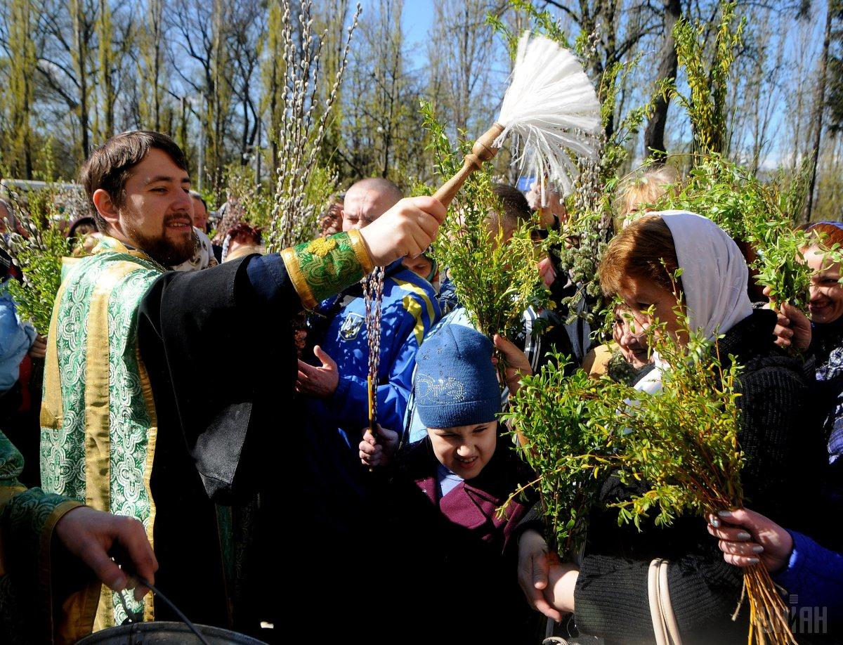 В 2019 году Вербное воскресенье приходится на 21 апреля / фото УНИАН