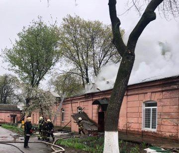 В одеській психлікарні сталася пожежа / фото od.dsns.gov.ua