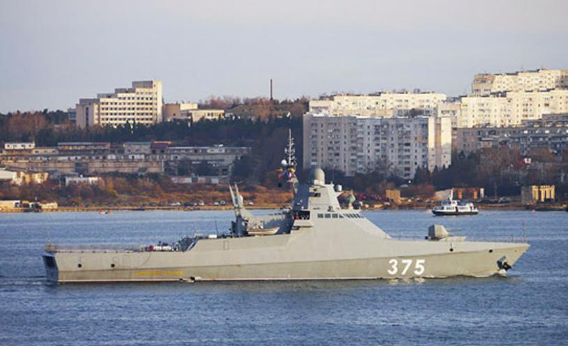Россия хочет прикрыть свои корветы новой системой РЭБ / function.mil.ru