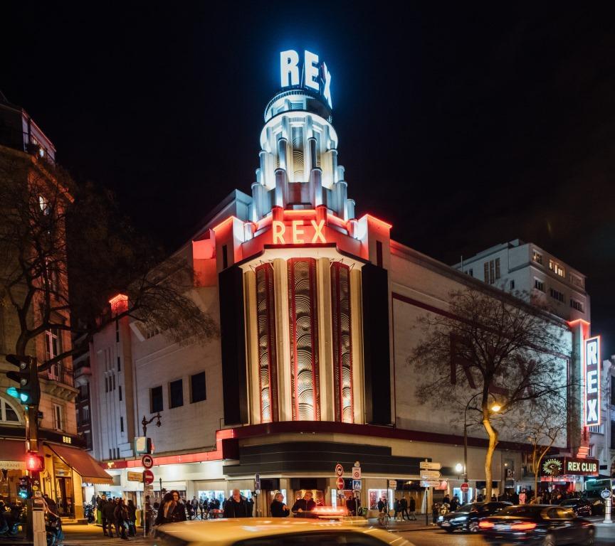 Кинотеатр Le Grand Rex Paris