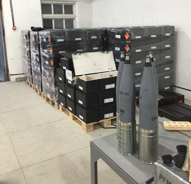 Партия 100-мм боеприпасов для экспорта / Фото Facebook/Антон Пашинский