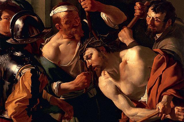 Христос з терновим вінцем. Дірк ван Бабурен. 1622-1623. Фото: Commons.wikimedia.org
