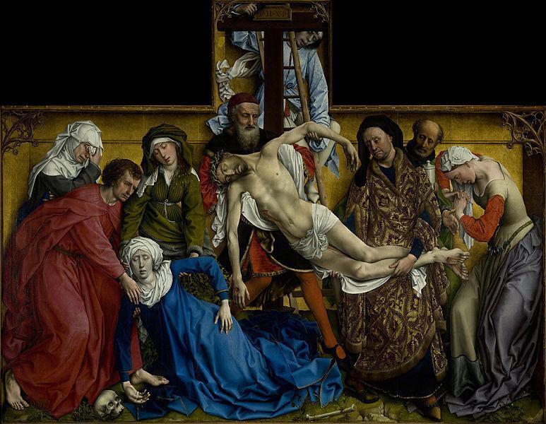 «Зняття з хреста» Рогіра ван дер Вейден. 1435-1438. Фото: Commons.wikimedia.org
